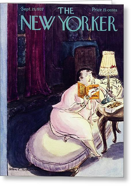 New Yorker September 25 1937 Greeting Card