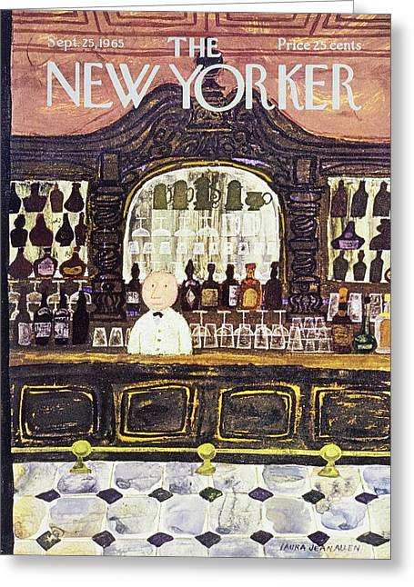 New Yorker September 25th 1965 Greeting Card