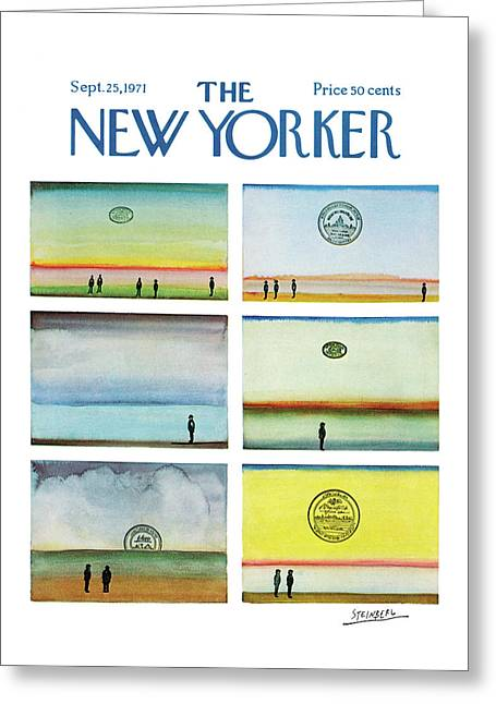New Yorker September 25th, 1971 Greeting Card