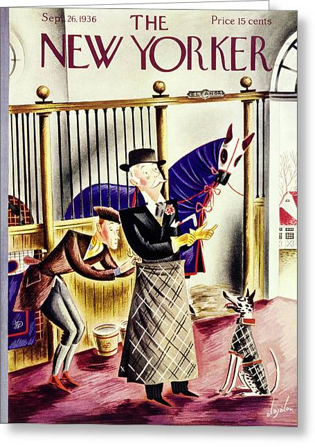 New Yorker September 26 1936 Greeting Card