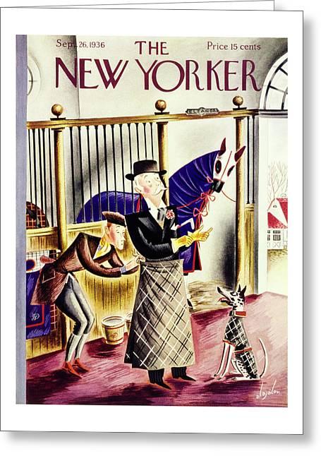 New Yorker September 26 1936 Greeting Card