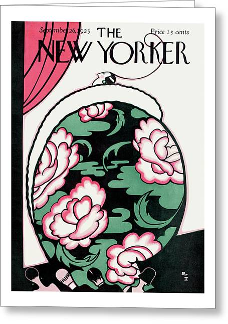 New Yorker September 26th, 1925 Greeting Card