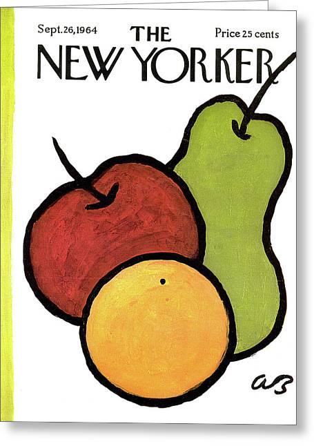 New Yorker September 26th, 1964 Greeting Card by Abe Birnbaum