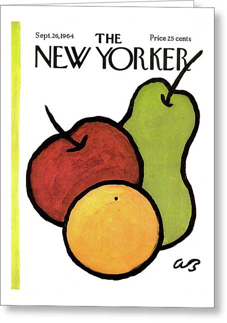 New Yorker September 26th, 1964 Greeting Card