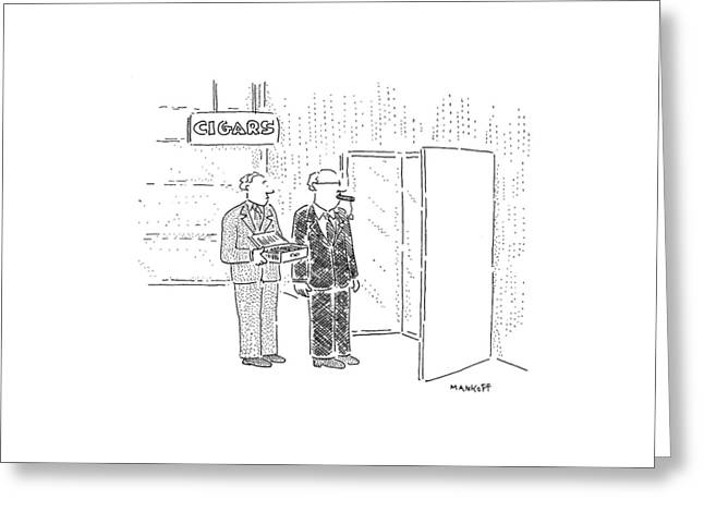 New Yorker September 26th, 1994 Greeting Card by Robert Mankoff