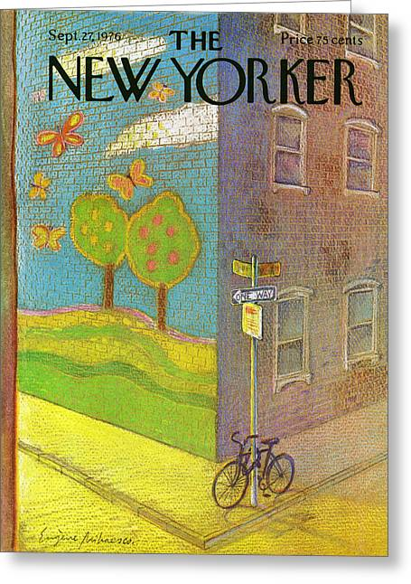 New Yorker September 27th, 1976 Greeting Card