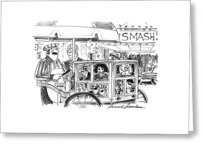 New Yorker September 27th, 1993 Greeting Card by Bernard Schoenbaum