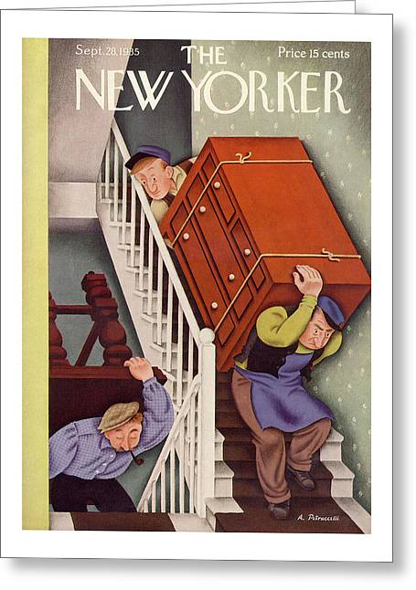 New Yorker September 28th, 1935 Greeting Card
