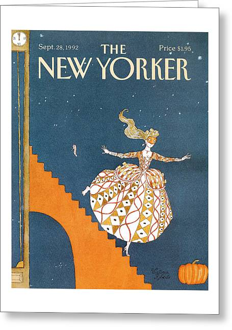 New Yorker September 28th, 1992 Greeting Card
