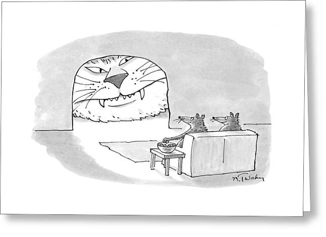 New Yorker September 28th, 1998 Greeting Card