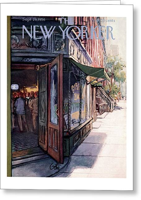 New Yorker September 29th, 1956 Greeting Card
