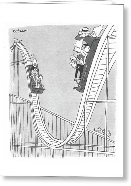 New Yorker September 2nd, 1944 Greeting Card