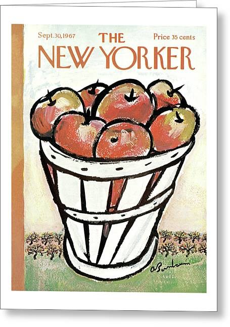 New Yorker September 30th, 1967 Greeting Card