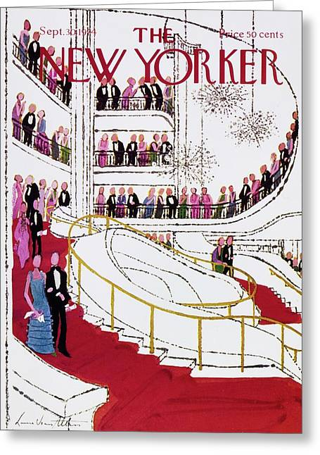 New Yorker September 30th 1974 Greeting Card