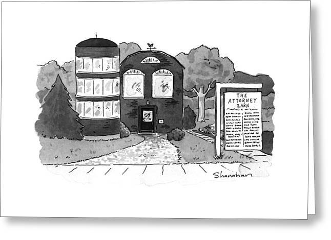 New Yorker September 30th, 1996 Greeting Card