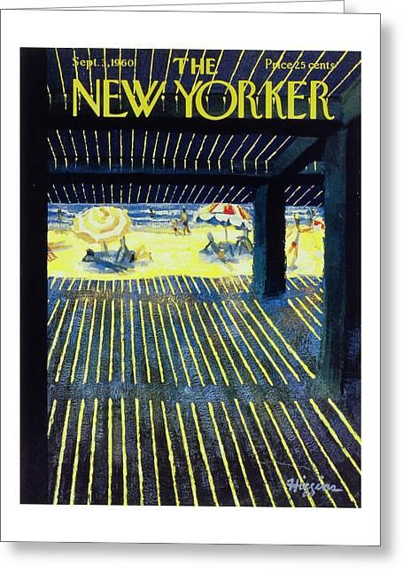 New Yorker September 3rd 1960 Greeting Card