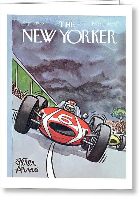 New Yorker September 3rd, 1966 Greeting Card
