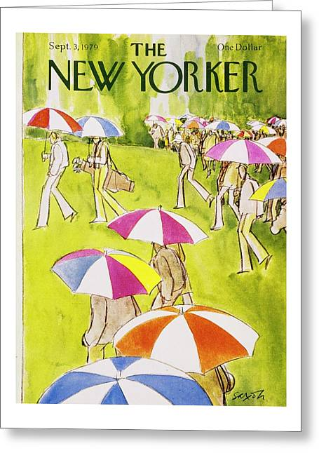 New Yorker September 3rd 1979 Greeting Card