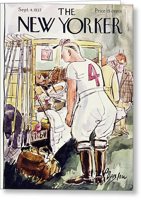 New Yorker September 4 1937 Greeting Card