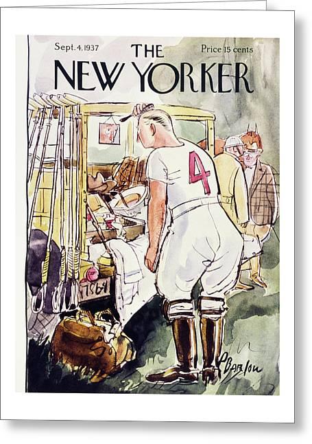 New Yorker September 4 1937 Greeting Card