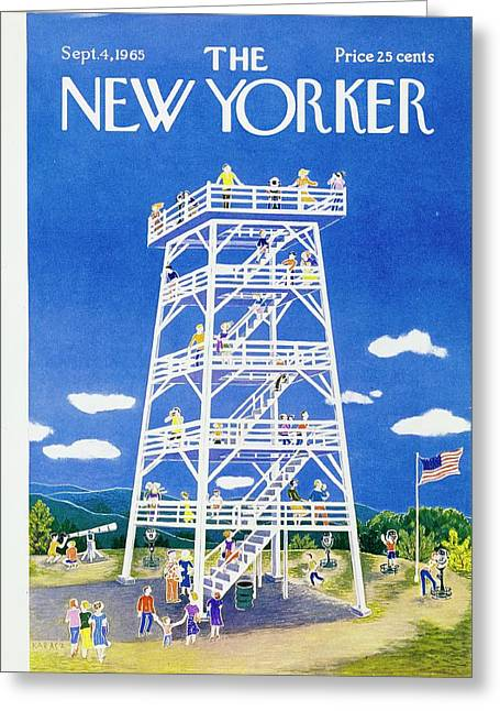 New Yorker September 4th 1965 Greeting Card