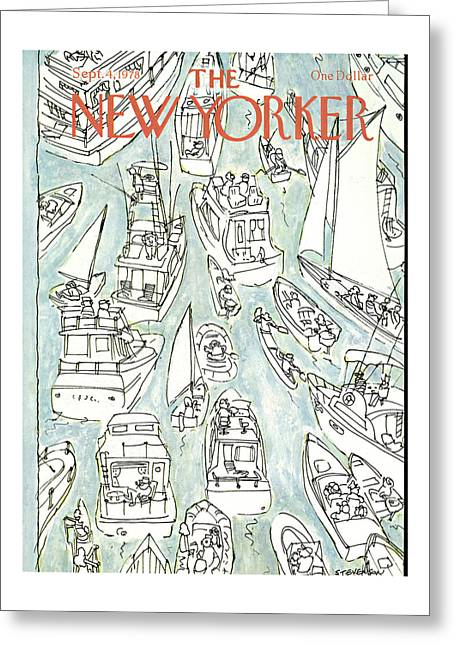 New Yorker September 4th, 1978 Greeting Card