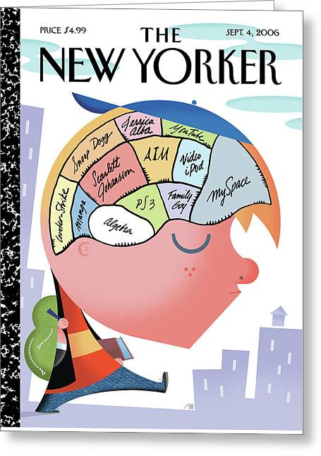 New Yorker September 4th, 2006 Greeting Card by Bob Staake