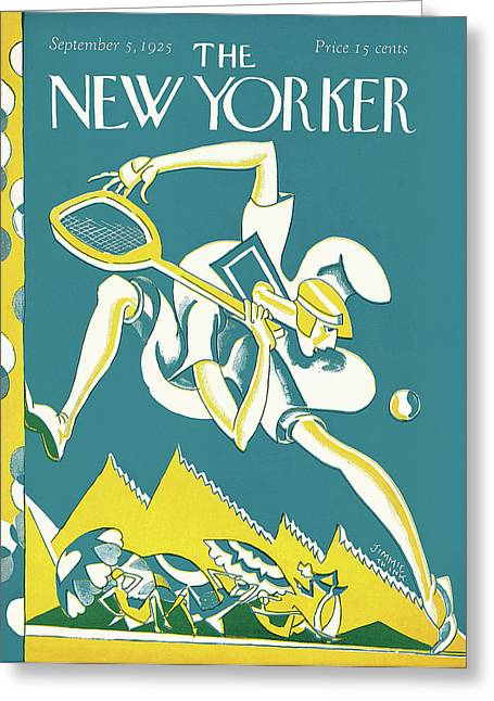 New Yorker September 5th, 1925 Greeting Card by James Daugherty