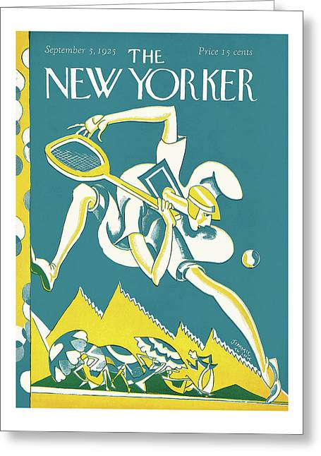 New Yorker September 5th, 1925 Greeting Card
