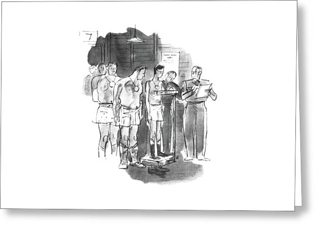 New Yorker September 5th, 1942 Greeting Card