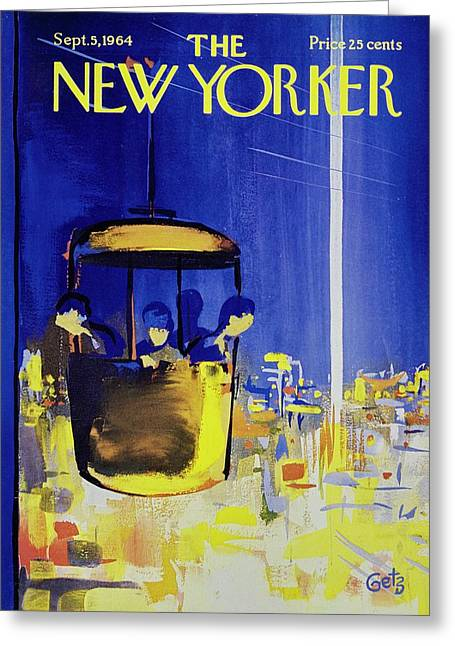 New Yorker September 5th 1964 Greeting Card