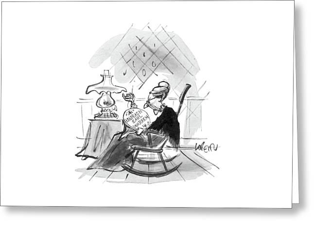 New Yorker September 5th, 1964 Greeting Card