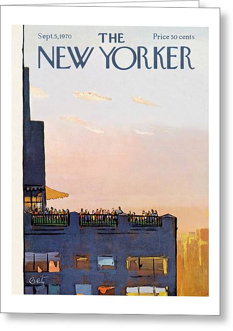 New Yorker September 5th, 1970 Greeting Card