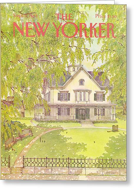 New Yorker September 5th, 1983 Greeting Card