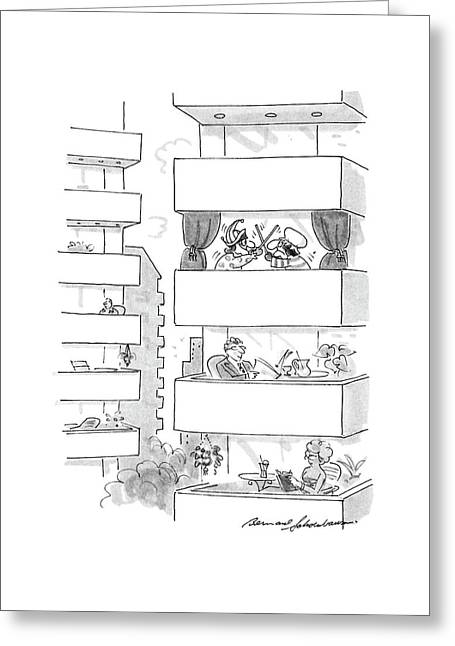 New Yorker September 5th, 1988 Greeting Card