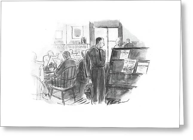 New Yorker September 6th, 1941 Greeting Card