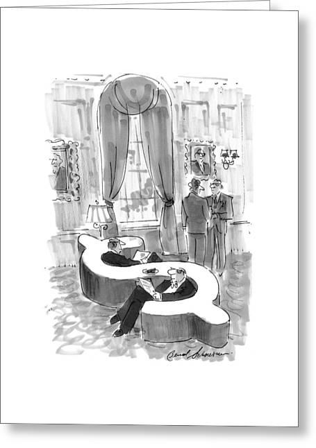 New Yorker September 6th, 1999 Greeting Card by Bernard Schoenbaum