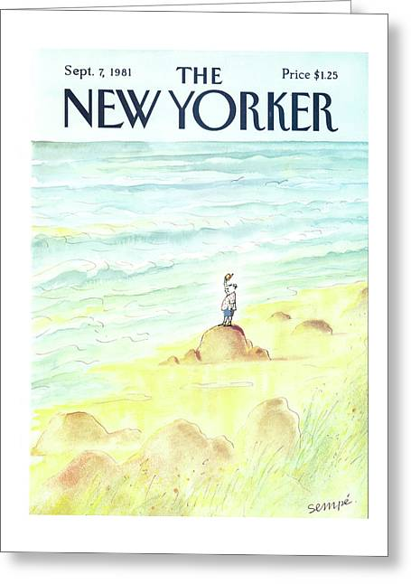New Yorker September 7th, 1981 Greeting Card