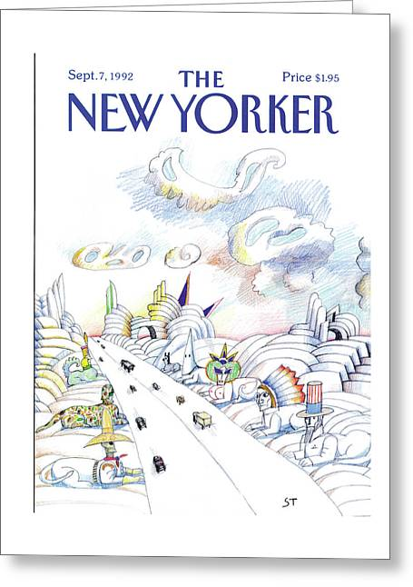 New Yorker September 7th, 1992 Greeting Card