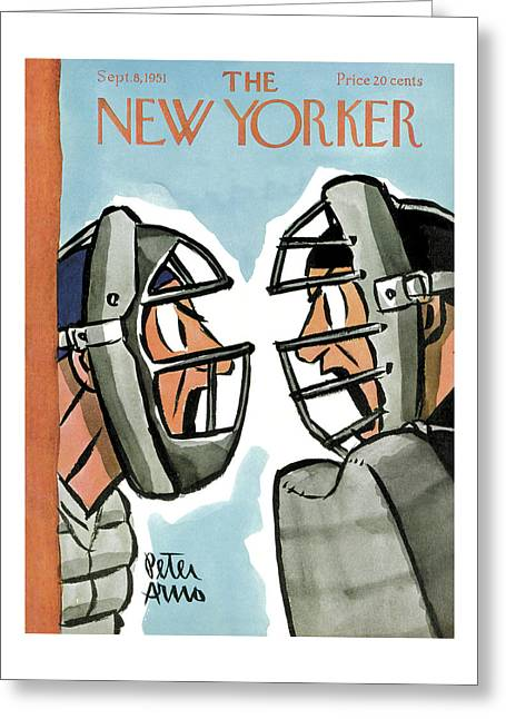 New Yorker September 8th, 1951 Greeting Card