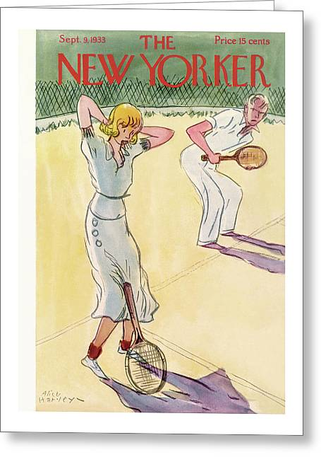 New Yorker September 9th, 1933 Greeting Card