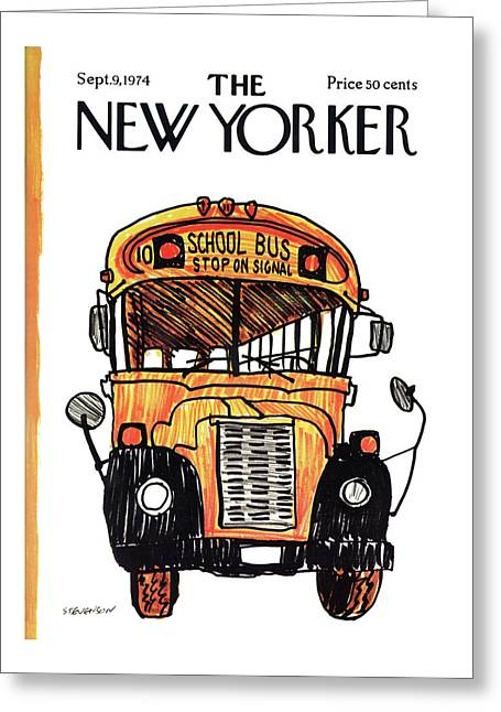New Yorker September 9th, 1974 Greeting Card