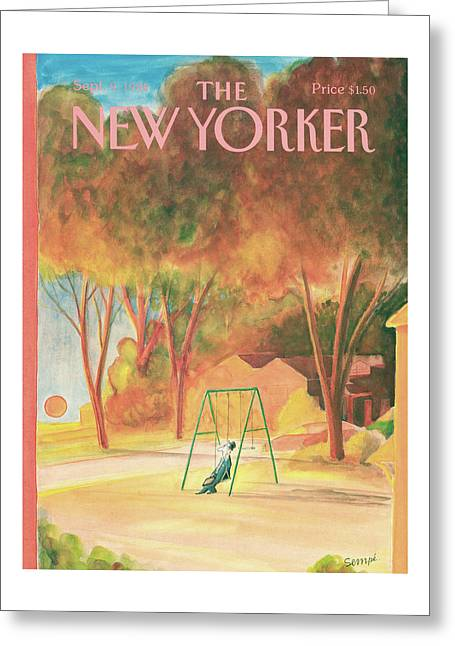 New Yorker September 9th, 1985 Greeting Card