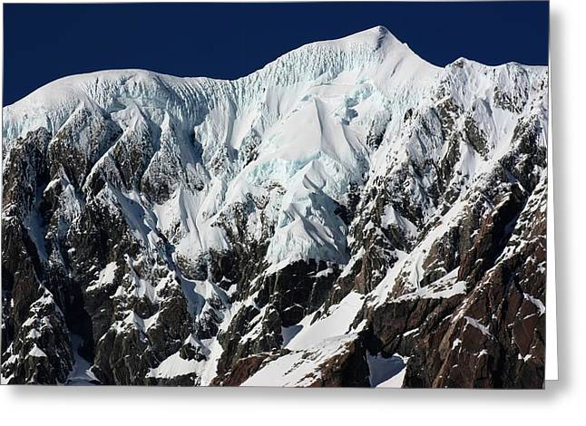 New Zealand Mountains Greeting Card by Amanda Stadther