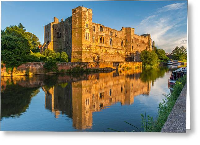Newark Castle Nottinghamshire Greeting Card by David Ross