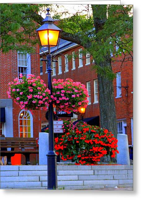 Newburyport Light Greeting Card