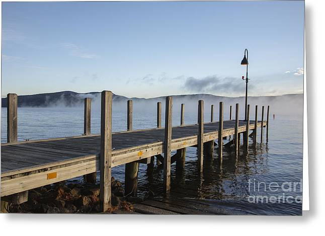 Newfound Lake -  Bristol New Hampshire Greeting Card by Erin Paul Donovan