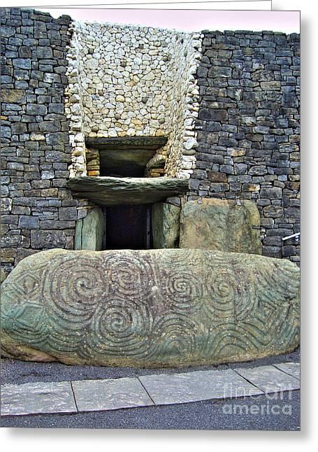 Newgrange Entrance Greeting Card