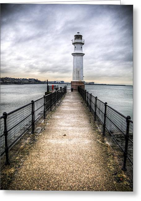 Newhaven Lighthouse Greeting Card