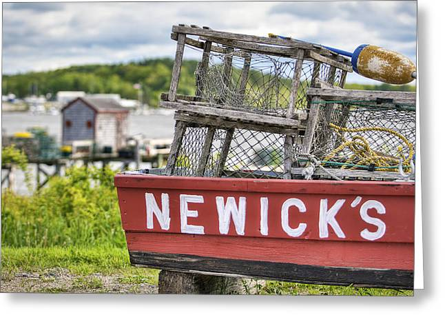 Newick's Seafood Greeting Card